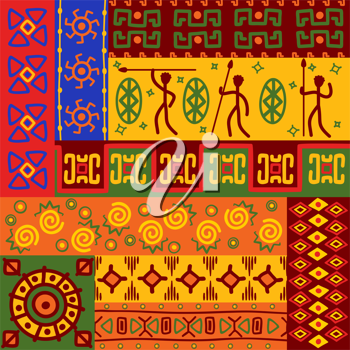 Abstract african ethnic patterns and ornaments for design